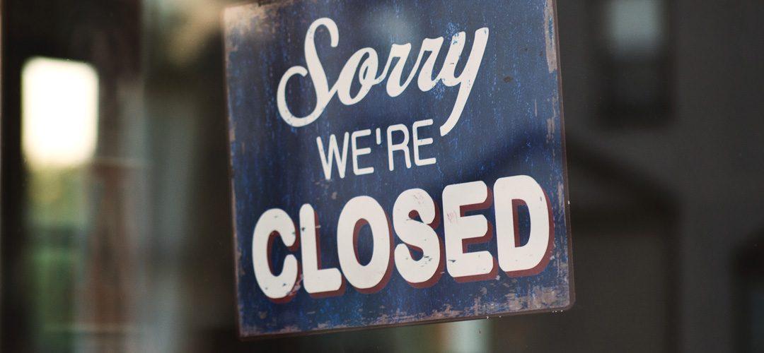 Leider haben wir voraussichtlich bis zum 17. Mai geschlossen